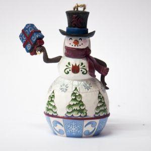 Snow man – Decorazione pupazzo di neve