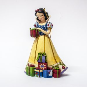 Disney Traditions Snow White Christmas figure