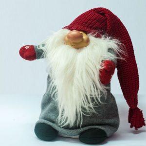 """Gnomo di Natale """"Stoffa"""""""